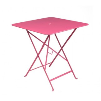 "28"" Square Bistro Table with Parasol Hole"