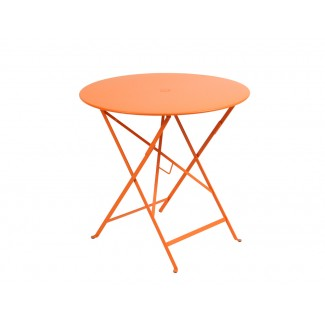 "30"" Round Folding Bistro Table with Parasol Hole"