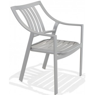 Bistro Bellano Nesting Dining Chair with Arms