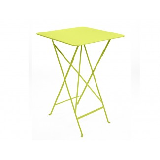 "28"" Square Folding High Bistro Bar Table"