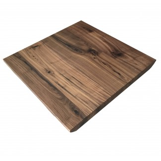 communal black walnut live edge restaurant table tops industrial