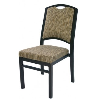 Bolero Aluminum Side Chair with Handhold 80/6