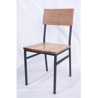 Brighton Industrial Hospitality Side Chair