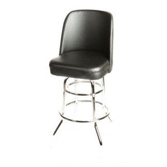 Bucket Bar Stool with Double Rung Chrome Frame SL2134