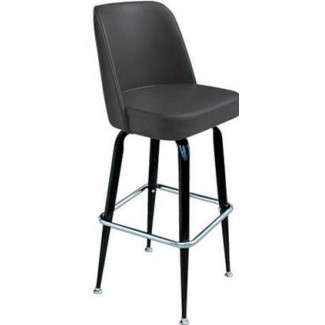Bucket Bar Stool with Metal Frame SL2133