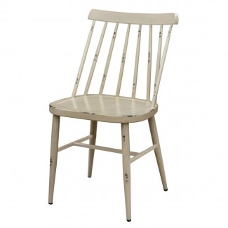 C604S-VAN Avigal Hospitality restauarnt industrial outdoor side chair vanilla