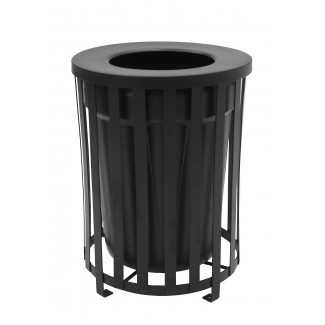 Cambridge Trash Receptacle with Liner