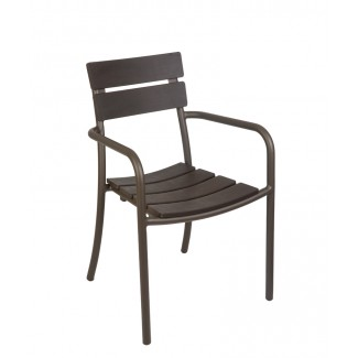 Camden Stackable Hospitality Outdoor Arm Chair