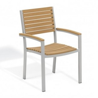 Travira Arm Chair - Tekwood Natural