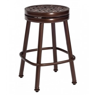 Casa Round Swivel Counter Stool