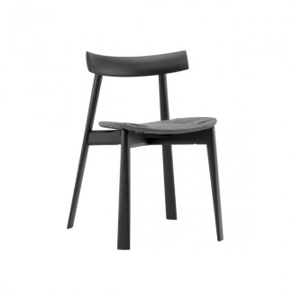 Wood Hospitality Side Chair - Ming - Wenge Finish
