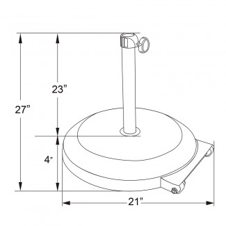 CFMT172 75lb Round Commercial Outdoor Umbrella Base Restauarant Hospitality with Wheels.jpg