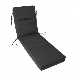 Chaise Lounge Cushion with Ties (C Fabric)