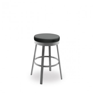 Clock 42437-USNB Hospitality distressed metal dining stool