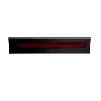 Commercial Outdoor Bromic Platinum Smart-Heat Electric Heater Black - 3400W