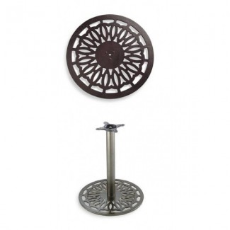 "24"" Round Table Base 100 Series"