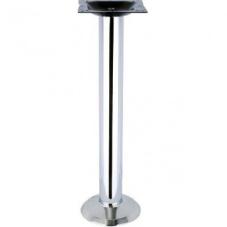 900 Flat Chrome Table Base