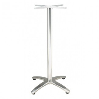 Commercial Restaurant Table Bases Classic Cross Bar Height Outdoor Table Base