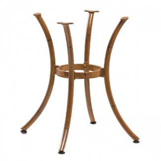 Classic II Outdoor Table Base - Bamboo AL-1316-BAM