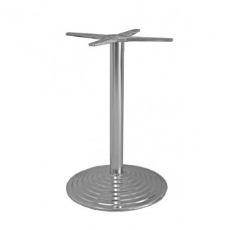 Commercial Restaurant Table Bases Classic Round Outdoor Table Base