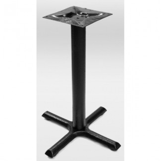 "Endura 22"" x 22"" Cross Outdoor Table Base ECB-2222"