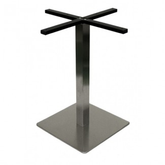 "Futura 18"" Square Bar Height Outdoor Table Base FUTURA-CS18BH"