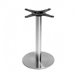 "Futura 28"" Round Bar Height Outdoor Table Base FUTURA-CR28BH"