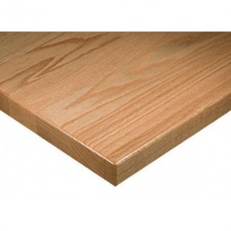"24"" Square Solid Wood Standard Plank Table Top"