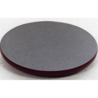 "72"" Round Laminate Table Top with Custom T-Mold Edge"
