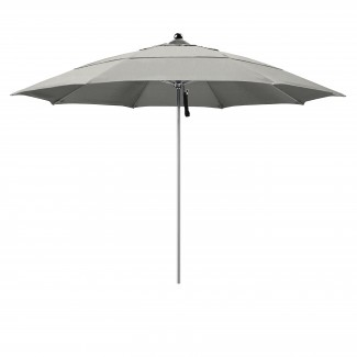 11' Fiberglass Rib Stainless Steel Market Umbrella