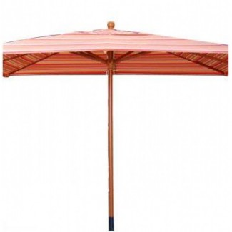 6.5' x 10' Cafe Market Umbrella