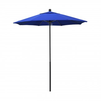 7.5' Push Up Octagonal Fiberglass Rib Market Umbrella