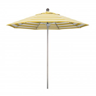 9' Fiberglass Rib Stainless Steel Market Umbrella