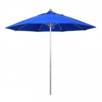 9' Octagonal Fiberglass Rib Market Umbrella with Pole Color Option
