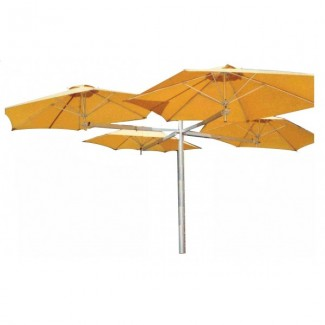 Commercial Patio Umbrellas Multiflex 4 Patio Cluster Umbrella