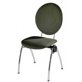 Congresso Steel Stacking Side Chair 682