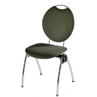Congresso Steel Stacking Side Chair with Handgrip 682T