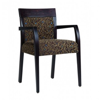 Beechwood Upholstered Arm Chair RF-234F-BOX