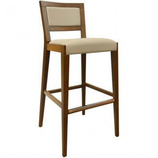 Contemporary Restaurant Solid Beech Wood Bar Stool CFC3033