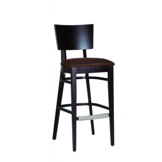 Contemporary Restaurant Solid Beech Wood Bar Stool CFC-318F