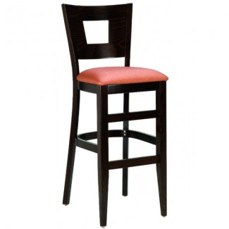 Contemporary Restaurant Solid Beech Wood Bar Stool CFC-325F