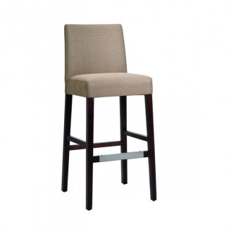 Contemporary Restaurant Solid Beech Wood Bar Stool CFC-332W