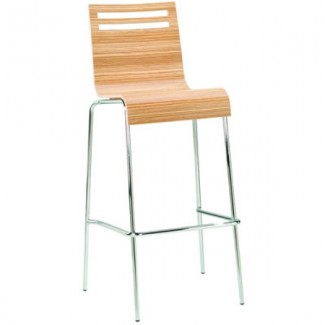 Contemporary Restaurant Solid Beech Wood Bar Stool CFC-359Z