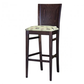 Beechwood Upholstered Bar Stool RF-366W