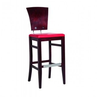 Contemporary Restaurant Solid Beech Wood Bar Stool CFC-451M