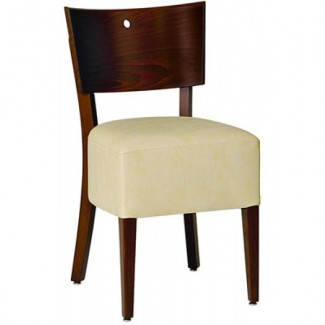 Contemporary Restaurant Solid Beech Wood Side Chair CFC-118U-BOX