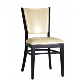Contemporary Restaurant Solid Beech Wood Side Chair CFC-122F-U