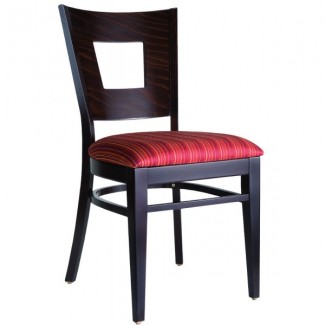 Contemporary Restaurant Solid Beech Wood Side Chair CFC-125F