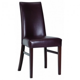 Contemporary Restaurant Solid Beech Wood Side Chair CFC-143W
