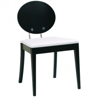 Contemporary Restaurant Solid Beech Wood Side Chair CFC-154